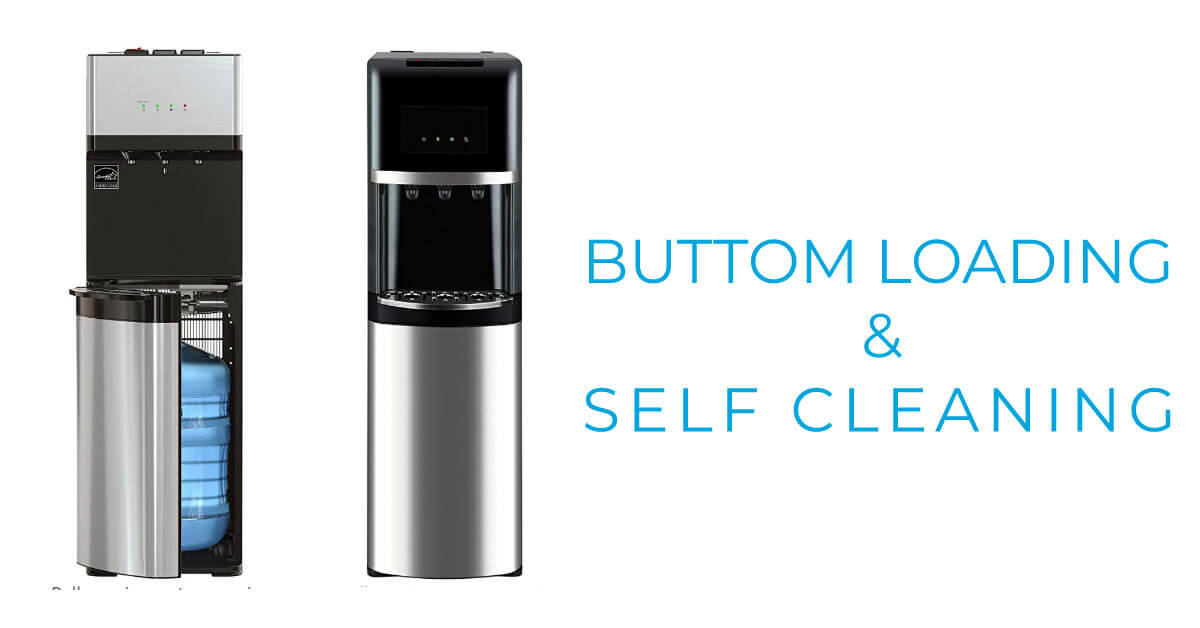Best Bottom Loading Water Dispenser with Self Cleaning Features